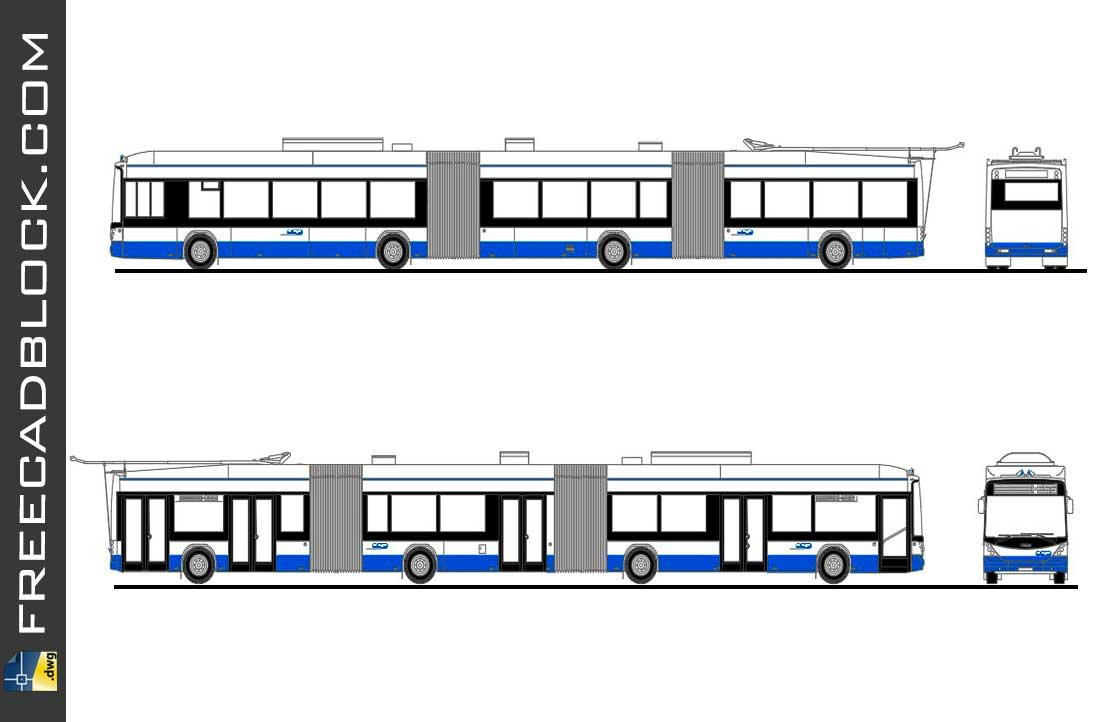 Drawing Tramway Dwg