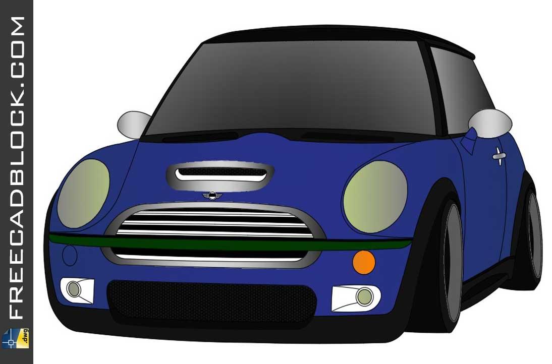 Drawing Mini Cooper S dwg