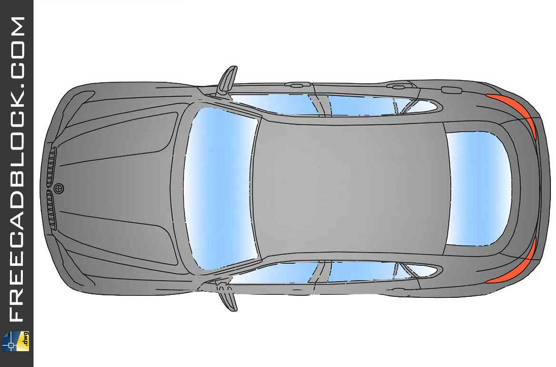 Drawing BMW X6 Top dwg