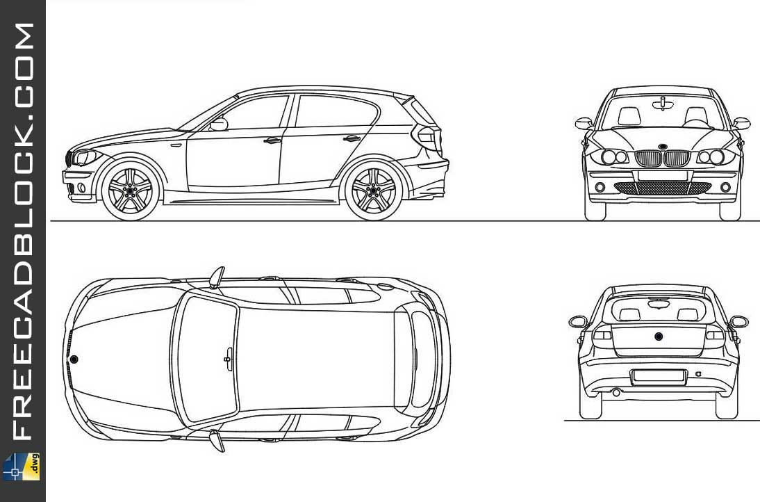 Drawing BMW S1 completo dwg