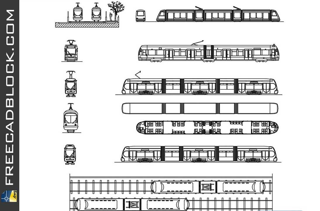 Drawing Metro dwg in Autocad 2D