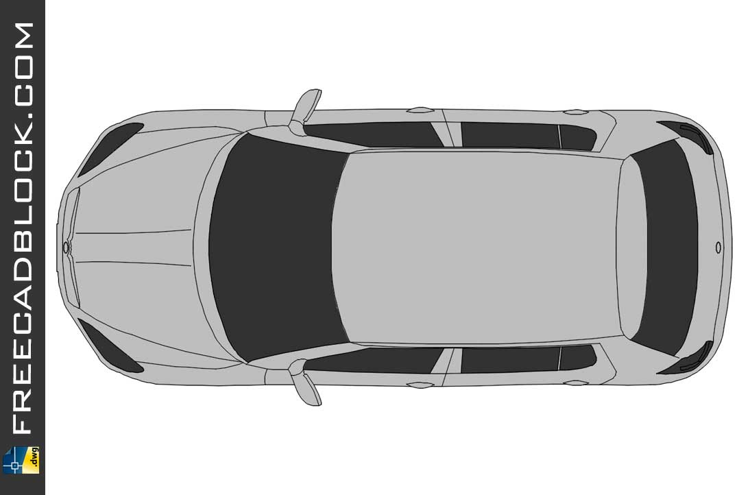 Drawing Rapid Skoda Top dwg in Autocad